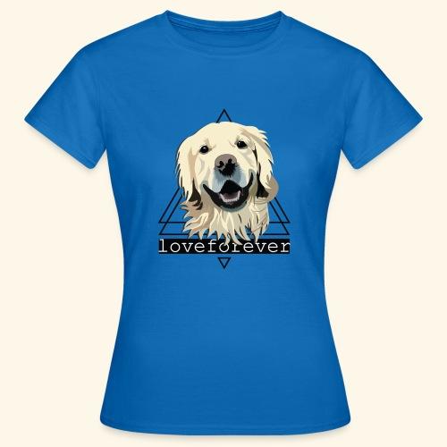 RETRIEVER LOVE FOREVER - Camiseta mujer