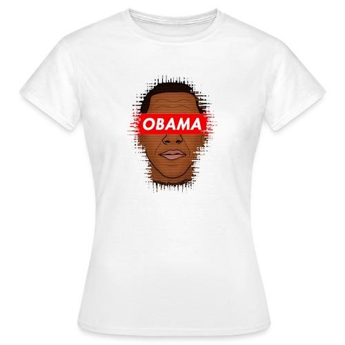 obama distorted - Camiseta mujer