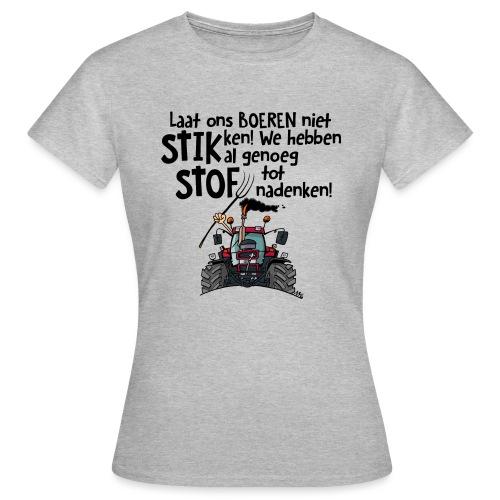 0505 stikstof - Vrouwen T-shirt