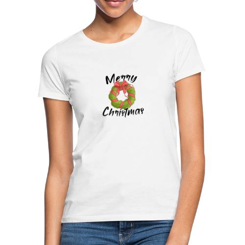 merry christmas, christmas present, christmas tree - Women's T-Shirt