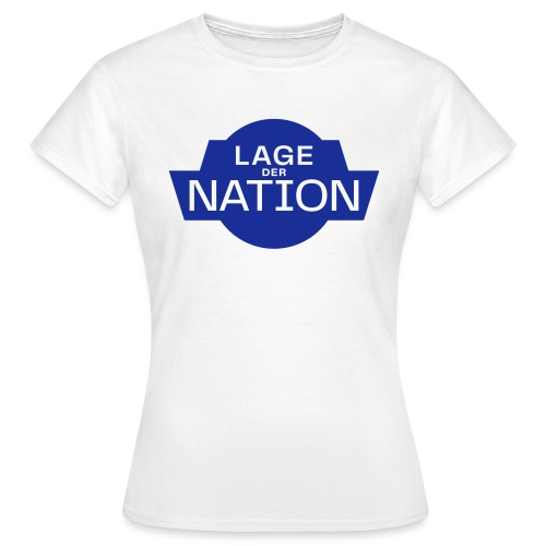 Lage der Nation Blau - Frauen T-Shirt
