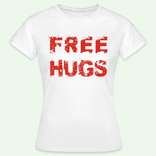 Free Hugs // Flirten // T-Shirt - Frauen T-Shirt