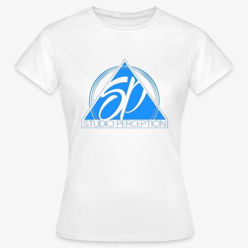 SP LOGO PERCEPTION CLOTHES BLEU - T-shirt Femme