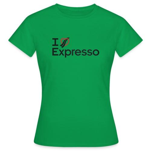 I Heart Expresso - Women's T-Shirt