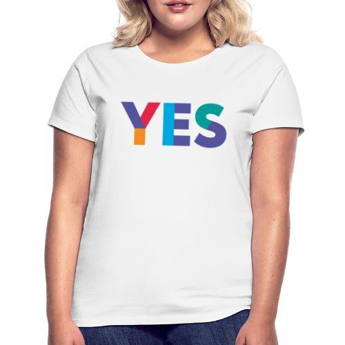 YES Scotland Logo Shirt - Women's T-Shirt