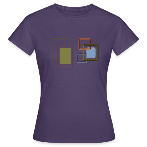 Quadratisch - Frauen T-Shirt