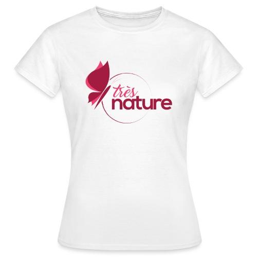rond_rose_pap_t_sh - T-shirt Femme