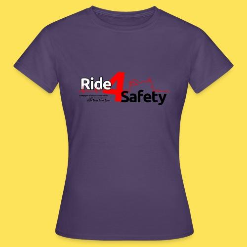 Ride 4 Safety - Maglietta da donna