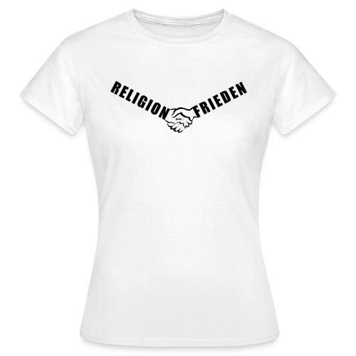 46_Handschlag_01 - Frauen T-Shirt