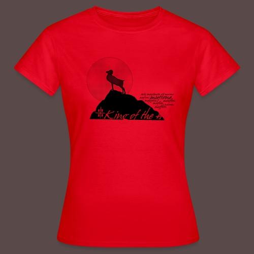 Muflone Halftone - Maglietta da donna