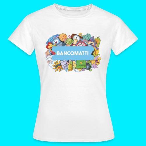Bancomatti DOODLE 1 - Maglietta da donna