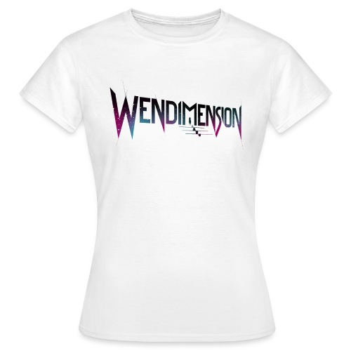 wendimension wordmark space - Naisten t-paita