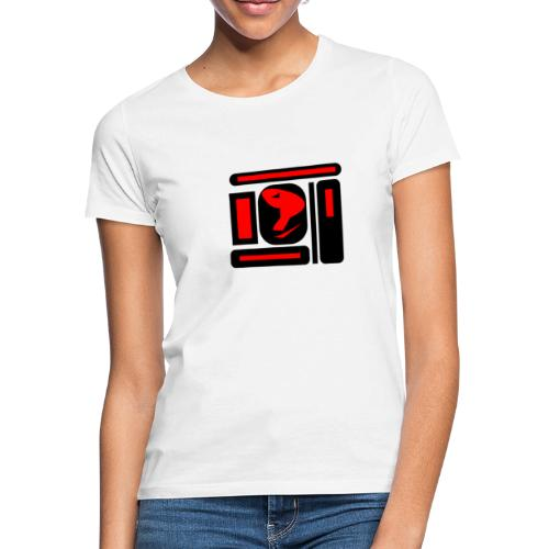 black and red hot P - Frauen T-Shirt