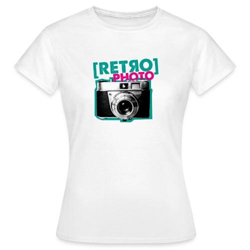 Retro Photo - Frauen T-Shirt