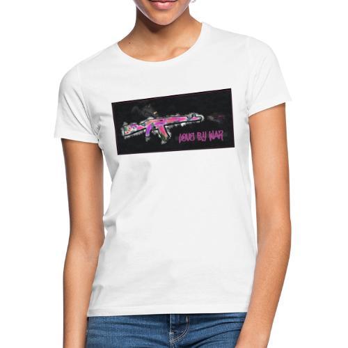 LOVEBYWAR - Camiseta mujer