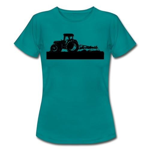 Tractor with cultivator - Women's T-Shirt