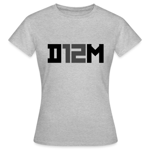 D12M: SHORT BLACK - Vrouwen T-shirt