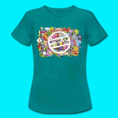 maglia logo doodle - Maglietta da donna