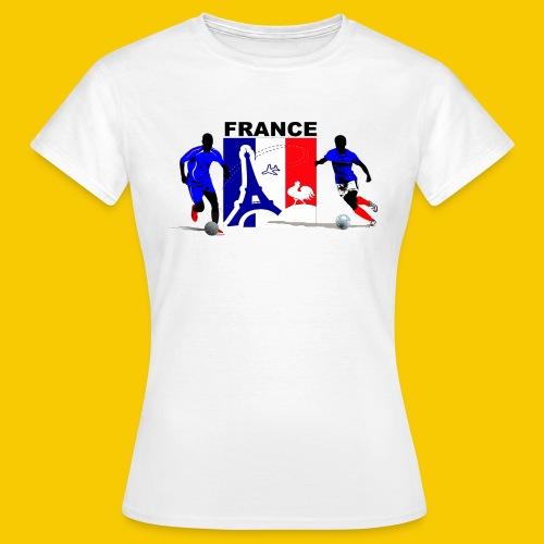 BLEU BLANC ROUGE - T-shirt Femme