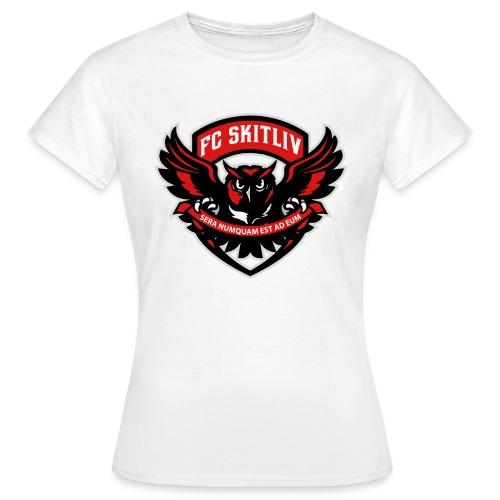 FC Skitliv - T-shirt dam