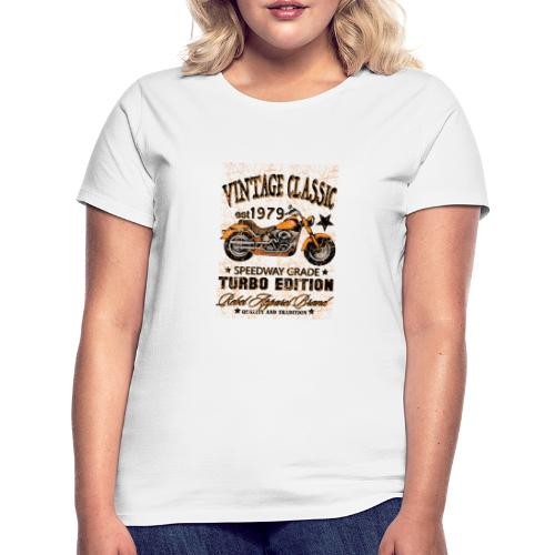 vintage classic - T-shirt dam