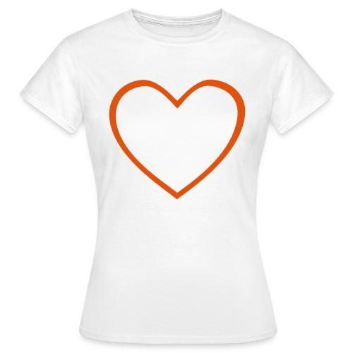 Hjärta 4 - T-shirt dam
