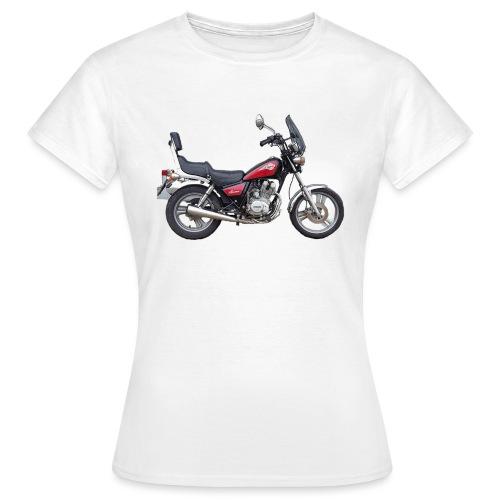 snm daelim vc 125 f advace seite rechts ohne - Frauen T-Shirt