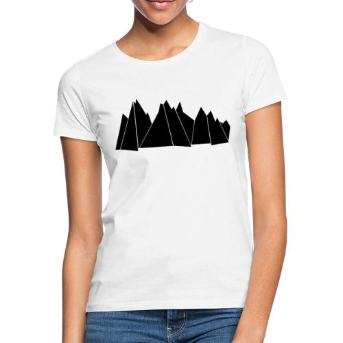 BlackMountains - Frauen T-Shirt