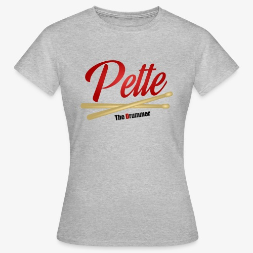 Pette the Drummer - Women's T-Shirt