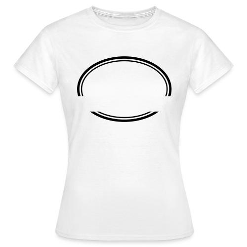 Kreis offen - Frauen T-Shirt