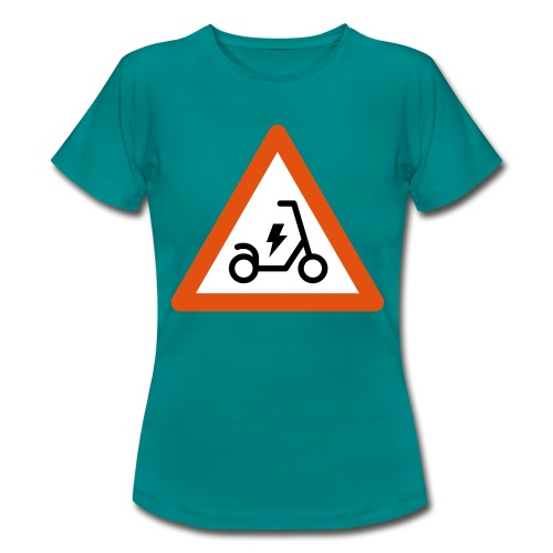 Electric Scooter - Maglietta da donna