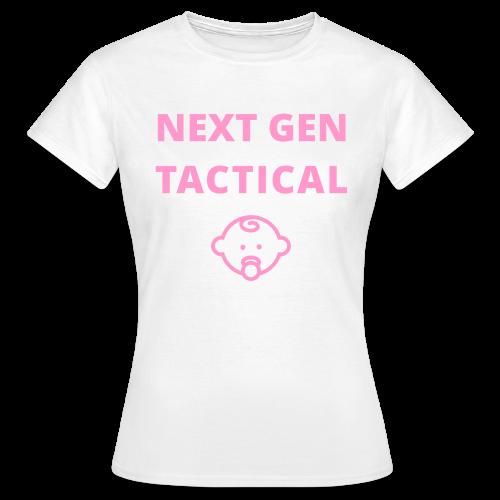 Tactical Baby Girl - Vrouwen T-shirt