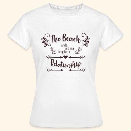 Beach Love - Vrouwen T-shirt
