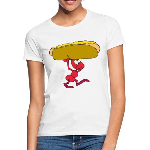 Hoddog+muurahainen - Naisten t-paita