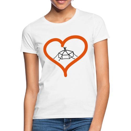 Herzjurte - Frauen T-Shirt