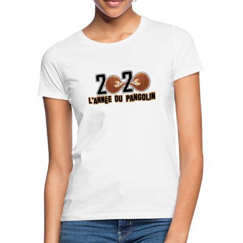 2020, année du pangolin - T-shirt Femme