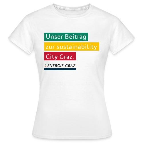 Energie Graz Vision - Frauen T-Shirt