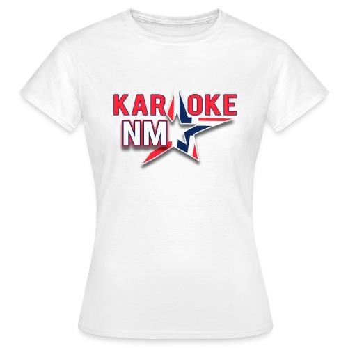 KaraokeNM - T-skjorte for kvinner