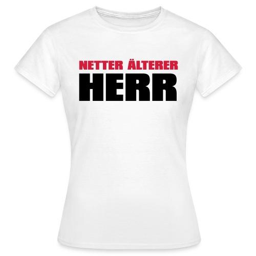 Netter älterter Herr - Frauen T-Shirt