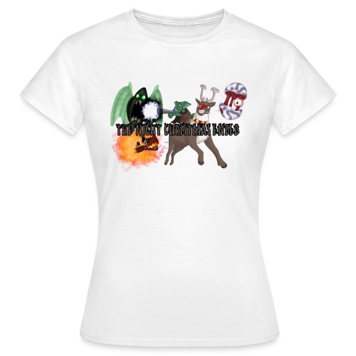 The Night jul Ended - Dame-T-shirt