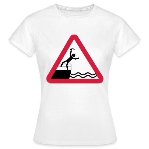 Bitte kein Bier Verschütten! - Frauen T-Shirt