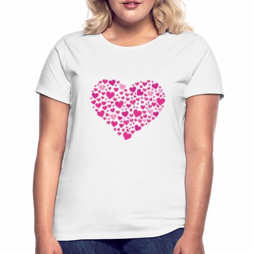 Herz aus Herzal - Frauen T-Shirt