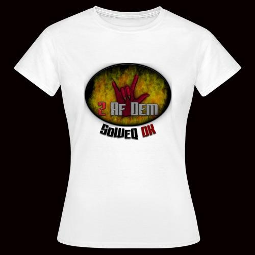 #2AfDem Collection ! - Dame-T-shirt