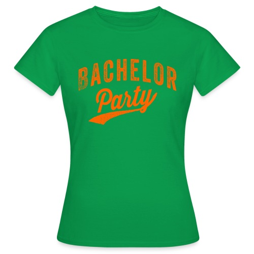 Bachelor Party oranje - Vrouwen T-shirt