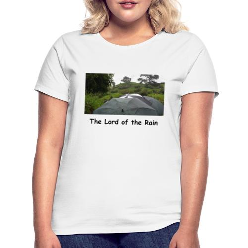 The Lord of the Rain - Neuseeland - Regenschirme - Frauen T-Shirt