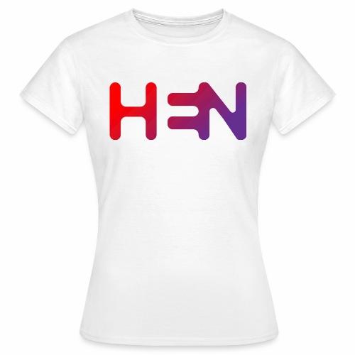 HEN LOGO - T-skjorte for kvinner