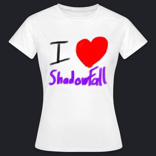 I heart shadowfall - Women's T-Shirt