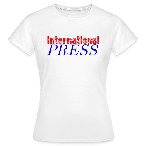 int_press-png - Maglietta da donna