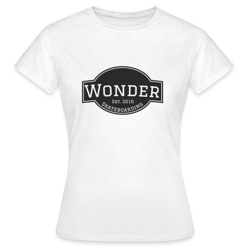 Wonder T-shirt - ol' small logo - Dame-T-shirt