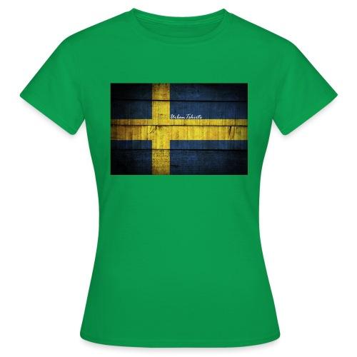 swedish-flag - T-shirt dam